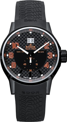 Edox WRC Rally Timer Big Date 64008 37N NOR watch picture