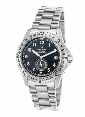 Eterna Airforce Small Second Date Automatic 8417.41.40.0178 watch picture