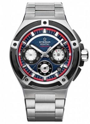 Eterna Royal Kontiki Chronograph GMT Manufacture 7760.42.80.0280 watch picture