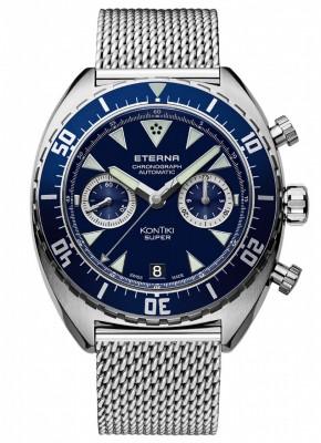Eterna Super KonTiki Chronograph Manufacture 7770.41.89.1718 watch picture