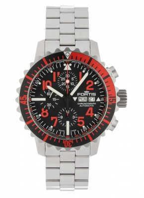 Fortis Aquatis Marinemaster Automatic Chronograph Rot 671.23.43 M watch picture