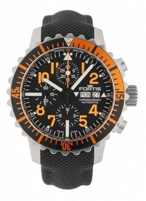 Fortis Aquatis Marinemaster Chronograph Orange 671.19.49 LP watch picture