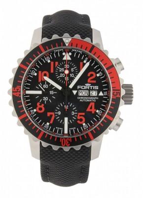 Fortis Aquatis Marinemaster Chronograph Rot 671.23.43 LP watch picture