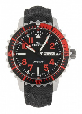Fortis Aquatis Marinemaster DayDate Automatic Rot 670.23.43 LP watch picture