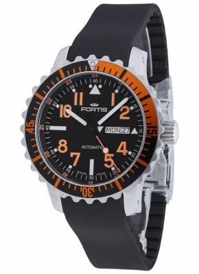Fortis Aquatis Marinemaster DayDate Orange 670.19.49 K watch picture