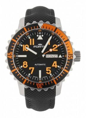 Fortis Aquatis Marinemaster DayDate Orange 670.19.49 LP watch picture