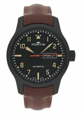 Fortis Aviatis Aeromaster Stealth 655.18.18 L.18 watch picture