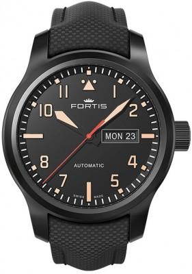 Fortis Aviatis Aeromaster Stealth 655.18.18 LP watch picture