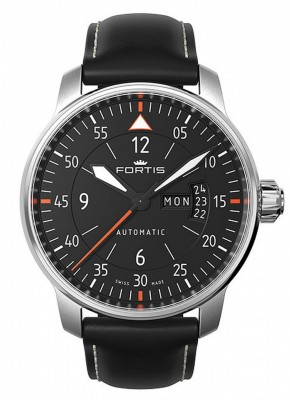 Fortis Aviatis Cockpit Two 704.21.19 L.01 watch picture