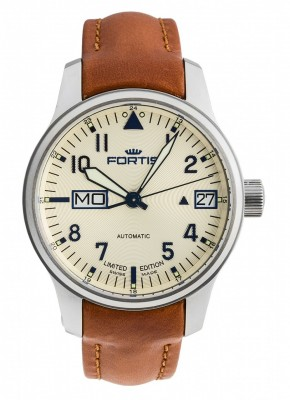 Fortis Aviatis F43 Recon Big DayDate Limited Edition 700.10.92 L.38 watch picture