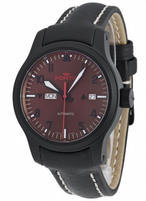 Fortis B42 Aeromaster Dusk DayDate 655.18.98 L.01 watch picture