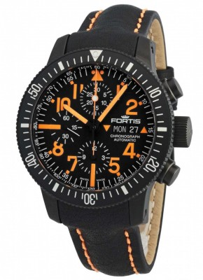 Fortis B42 Black Mars 500 Chronograph Automatic 638.28.13 L.13 watch picture