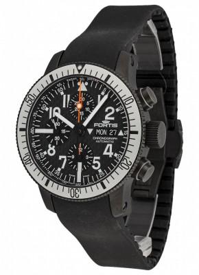 Fortis B42 Black Titanium Carbon Dial Chronograph 638.28.61 K watch picture