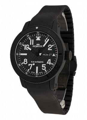 Fortis B42 Black Titanium Carbon Dial DayDate 647.28.51 K watch picture