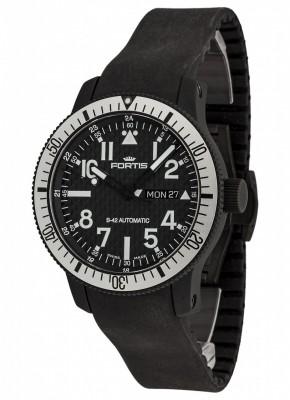 Fortis B42 Black Titanium Carbon Dial DayDate 647.28.61 K watch picture