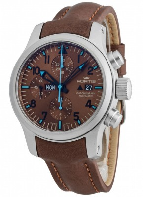 Fortis B42 Blue Horizon Chronograph Limited Edition 656.10.95 L.18 watch picture