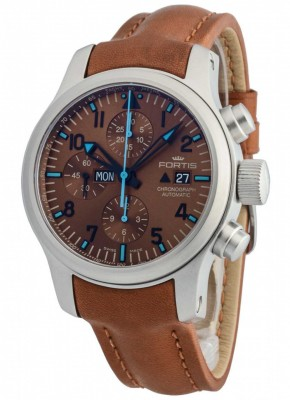 Fortis B42 Blue Horizon Chronograph Limited Edition 656.10.95 L.28 watch picture