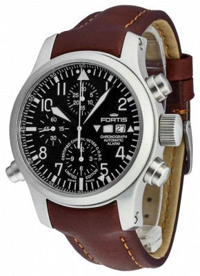 Fortis B42 Flieger Alarm Chronograph Limited Edition COSC 657.10.11 L.18 watch picture