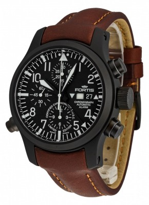 Fortis B42 Flieger Alarm Chronograph Limited Edition COSC 657.18.11 L.18 watch picture