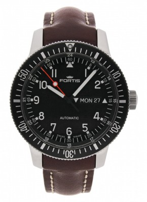 Fortis B42 Official Cosmonauts DayDate Automatic 647.10.11 L.16 watch picture