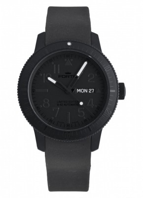 Fortis B42 Pitch Black DayDate Limited Edition 647.28.81 K watch picture