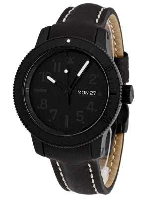 Fortis B42 Pitch Black DayDate Limited Edition 647.28.81 L01 watch picture