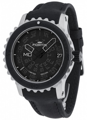 Fortis B47 Big Steel DayDate Automatic 675.10.81 L.01 watch picture