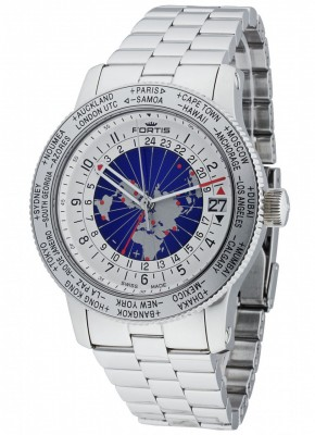 Fortis B47 World Timer GMT Automatic 674.20.15 M watch picture