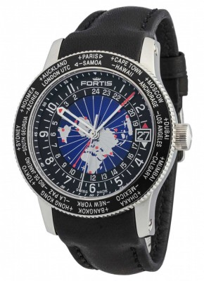 Fortis B47 World Timer GMT Automatic 674.21.11 L.01 watch picture