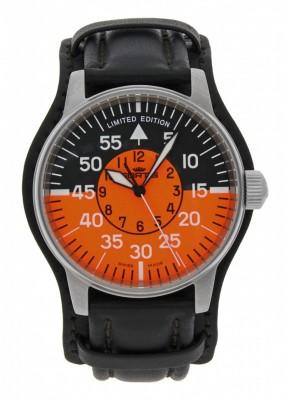 Fortis Flieger Cockpit Orange 654.10.13 L.01 Limited Edition watch picture
