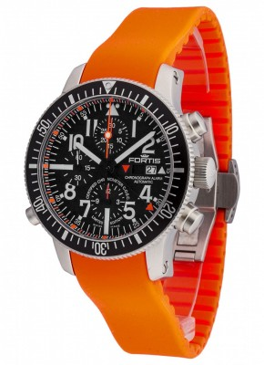 Fortis Marinemaster Alarm Chronograph Limited Edition COSC 639.10.41 Si.20 watch picture
