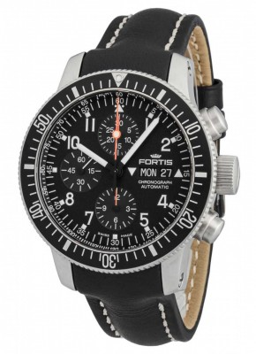 Fortis Official Cosmonauts Chronograph 638.10.11 L.01 watch picture