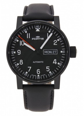 Fortis Spacematic Pilot Professional DayDate Automatic 623.18.71 L.10 watch picture