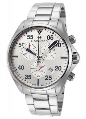 Hamilton Khaki Aviation Chronograph Date Quarz H76712151 watch picture