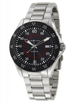 Hamilton Khaki Aviation Khaki Pilot GMT Date Automatic H76755135 watch picture