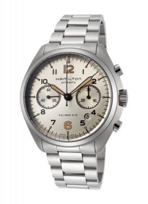 Hamilton Khaki Aviation Pilot Pioneer Chronograph Date Automatic H76416155 watch picture