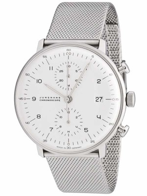 Junghans Max Bill Chronoscope 0274003.44 watch picture