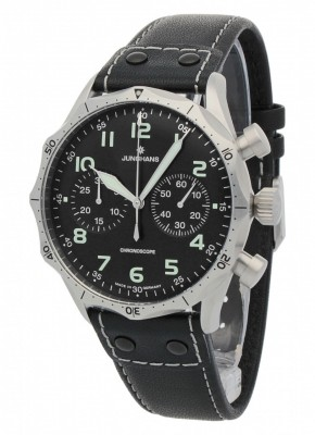 Junghans Meister Pilot Chronoscope 0273590.00 watch picture