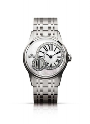 Marvin Lady Origin with diamonds M018.12.77.12 watch picture