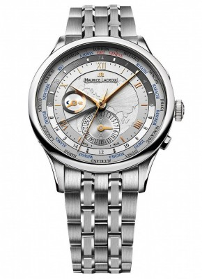 Maurice Lacroix Masterpiece Worldtimer MP6008SS002110 watch picture