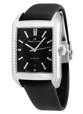 Maurice Lacroix Pontos Rectangulaire Automatic with diamonds PT6247SD501350 watch picture