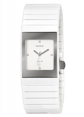 Rado Ceramica Jubile Lady with diamonds Date Quarz R21982702 watch picture