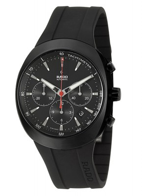 Rado DiaStar Black Chronograph Limited Edition Automatic R15378159 watch picture