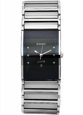 Rado Integral Jubile Gent with diamonds Date Quarz R20784759 watch picture