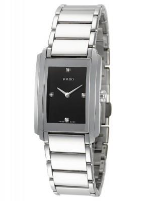 Rado Integral Lady with diamonds Quarz R20213713 watch picture