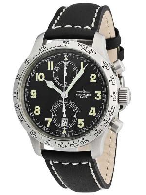 Zeno Watch Basel Tachymeter Pilot Chronograph Bicompax 95572Ta1 watch picture